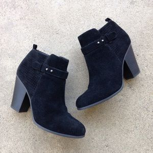Michael by Michael Shannon Suede Zooey Booties